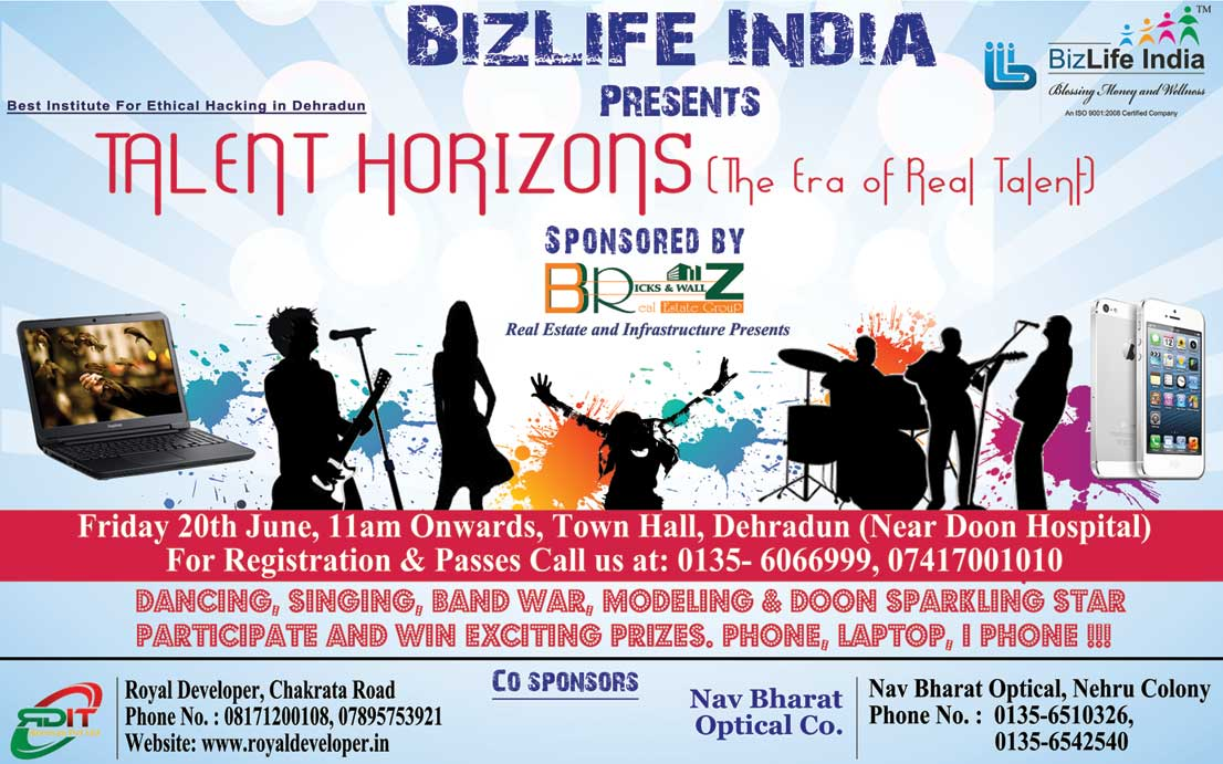 Cyber Radix Institute - Talent Horizons Events 2014