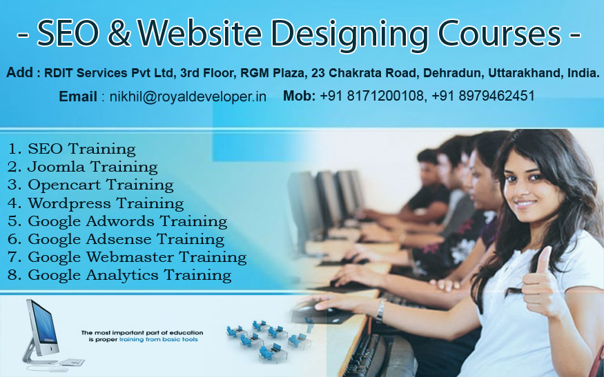 SEO Training Courses in Dehradun Uttarakhand
